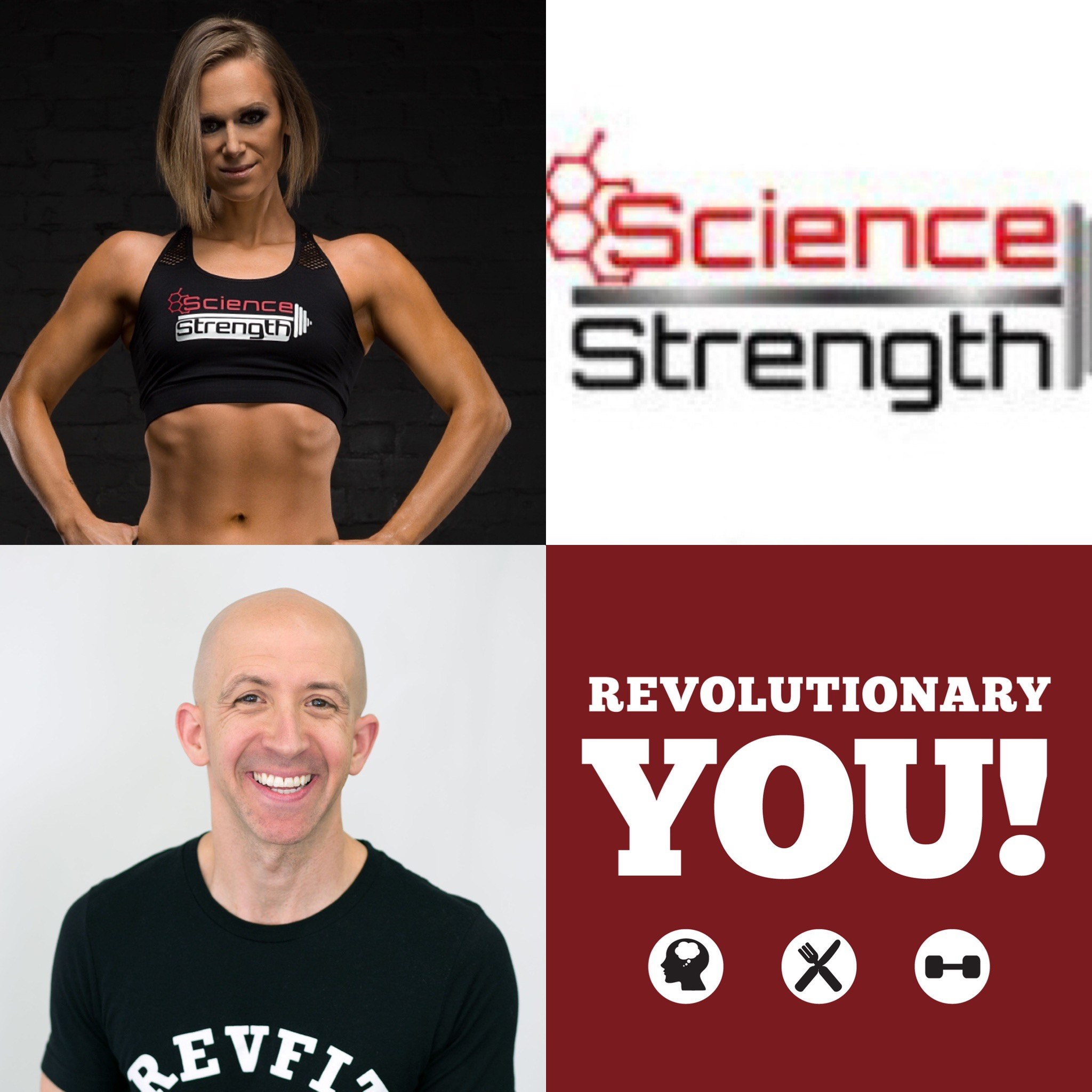 Revolutionary You! #169-BONUS-Dr. Anastasia Zinchenko: Protein Requirements  For Vegan Strength Athletes